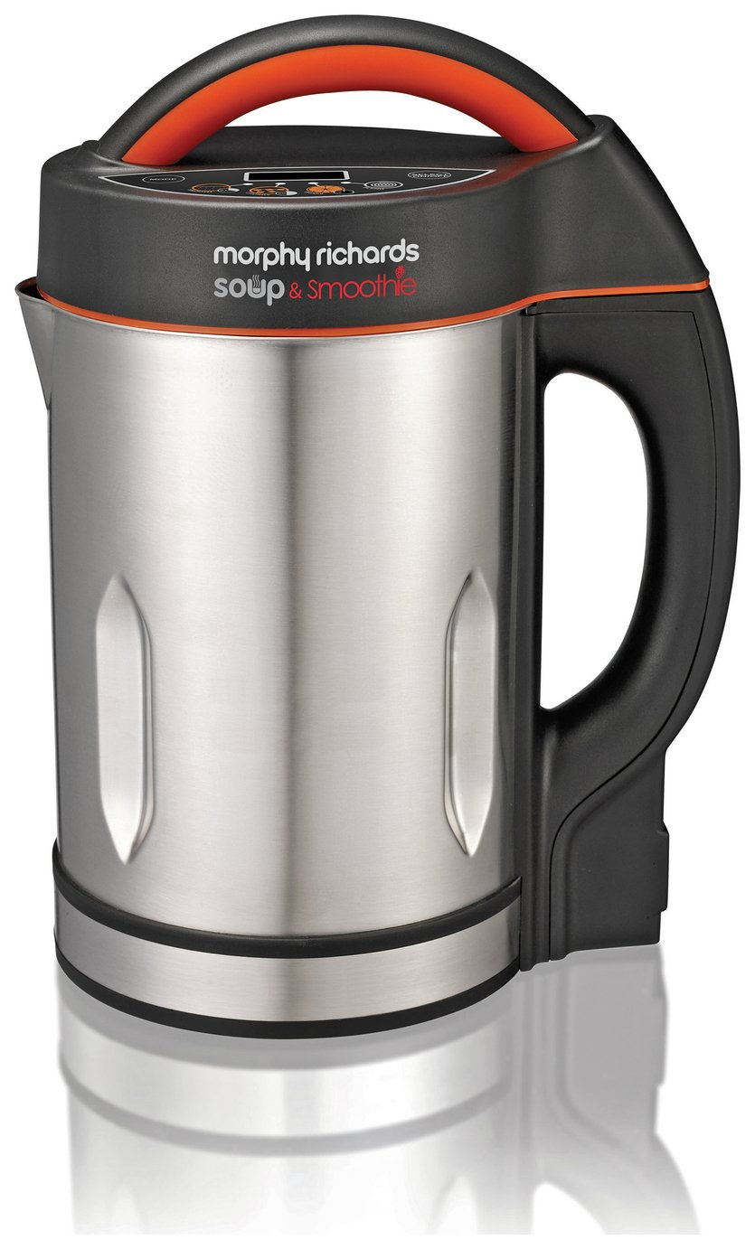 morphy richards saute and soup maker stainless steel. Black Bedroom Furniture Sets. Home Design Ideas