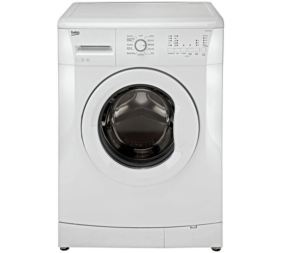 buy beko wm7120w 7kg 1200 spin washing machine white at. Black Bedroom Furniture Sets. Home Design Ideas