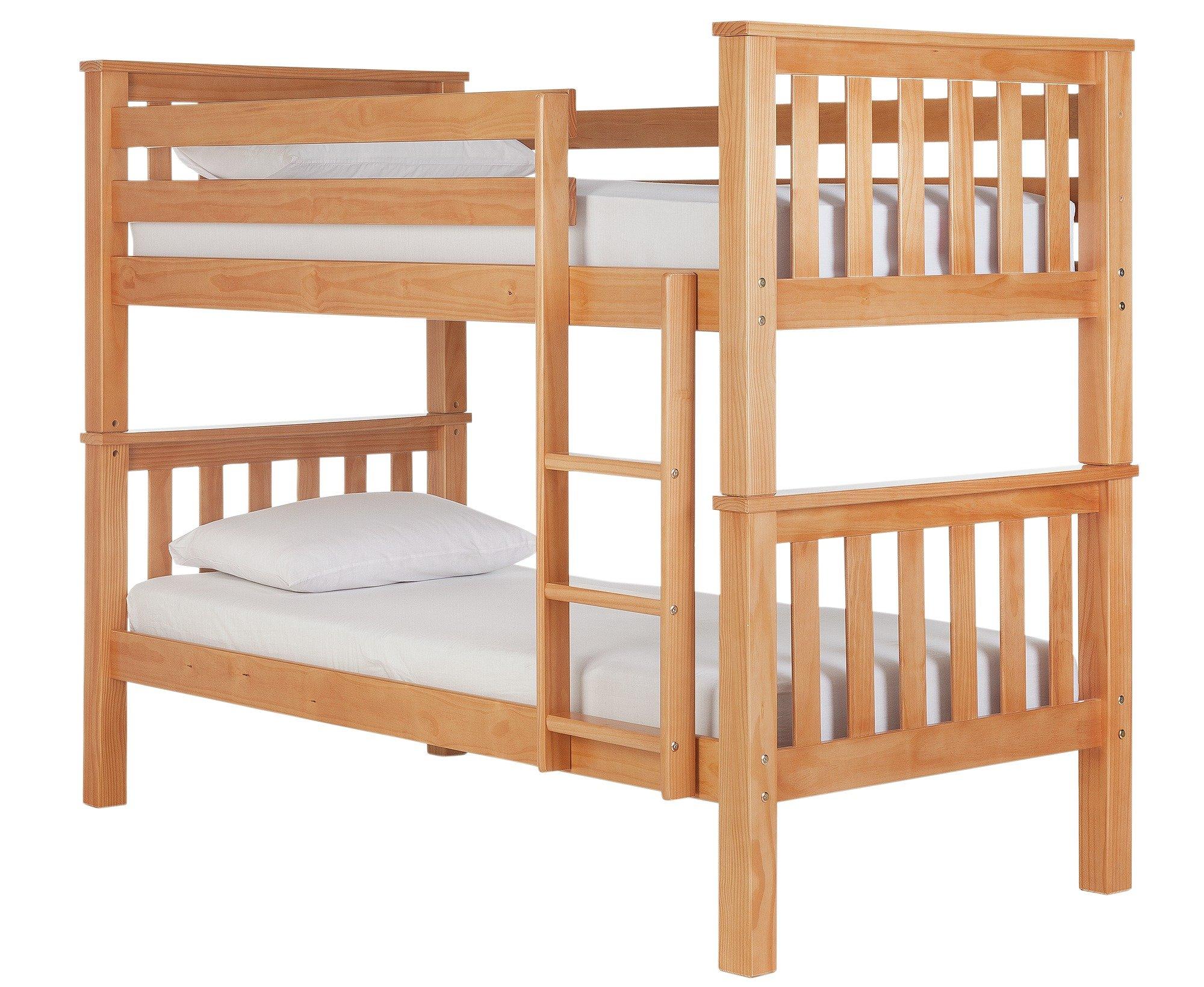 Metal Fuchsia Futon Bunk Bed With Ashley Mattress