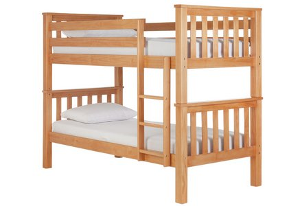 Collection Heavy Duty Bunk Bed Frame - Pine.