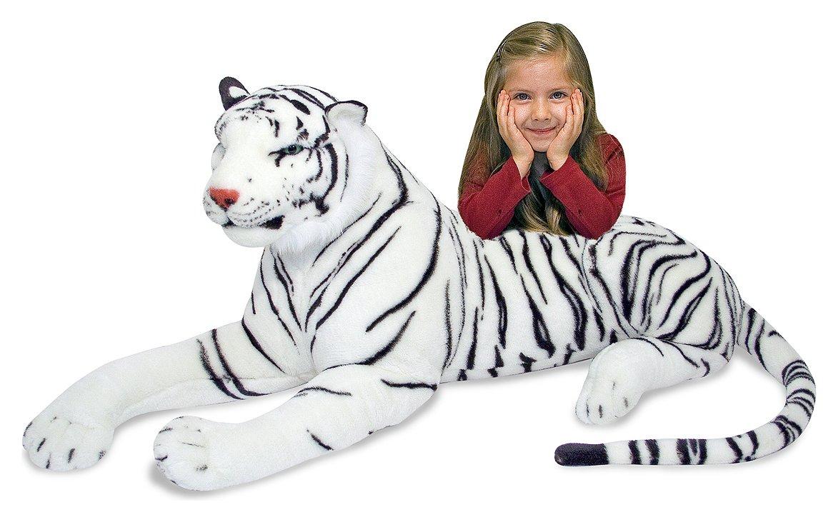 Melissa and Doug - White Tiger - Plush