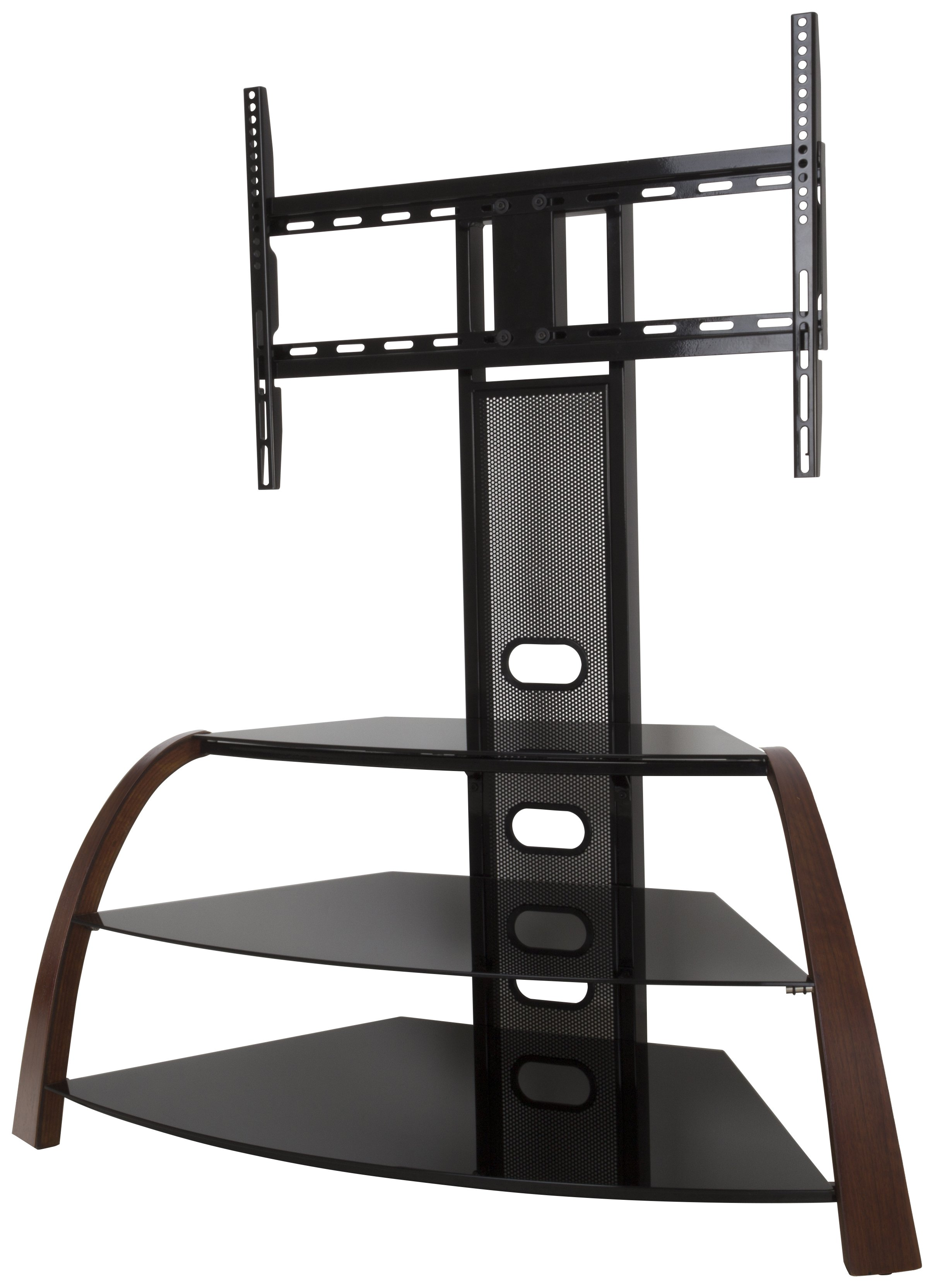 Image of AVF Kingswood Up to 55 Inch Combined TV Stand - Walnut