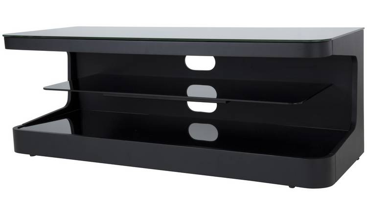 Buy Avf Up To 55 Inch Wood Tv Stand Black Tv Stands