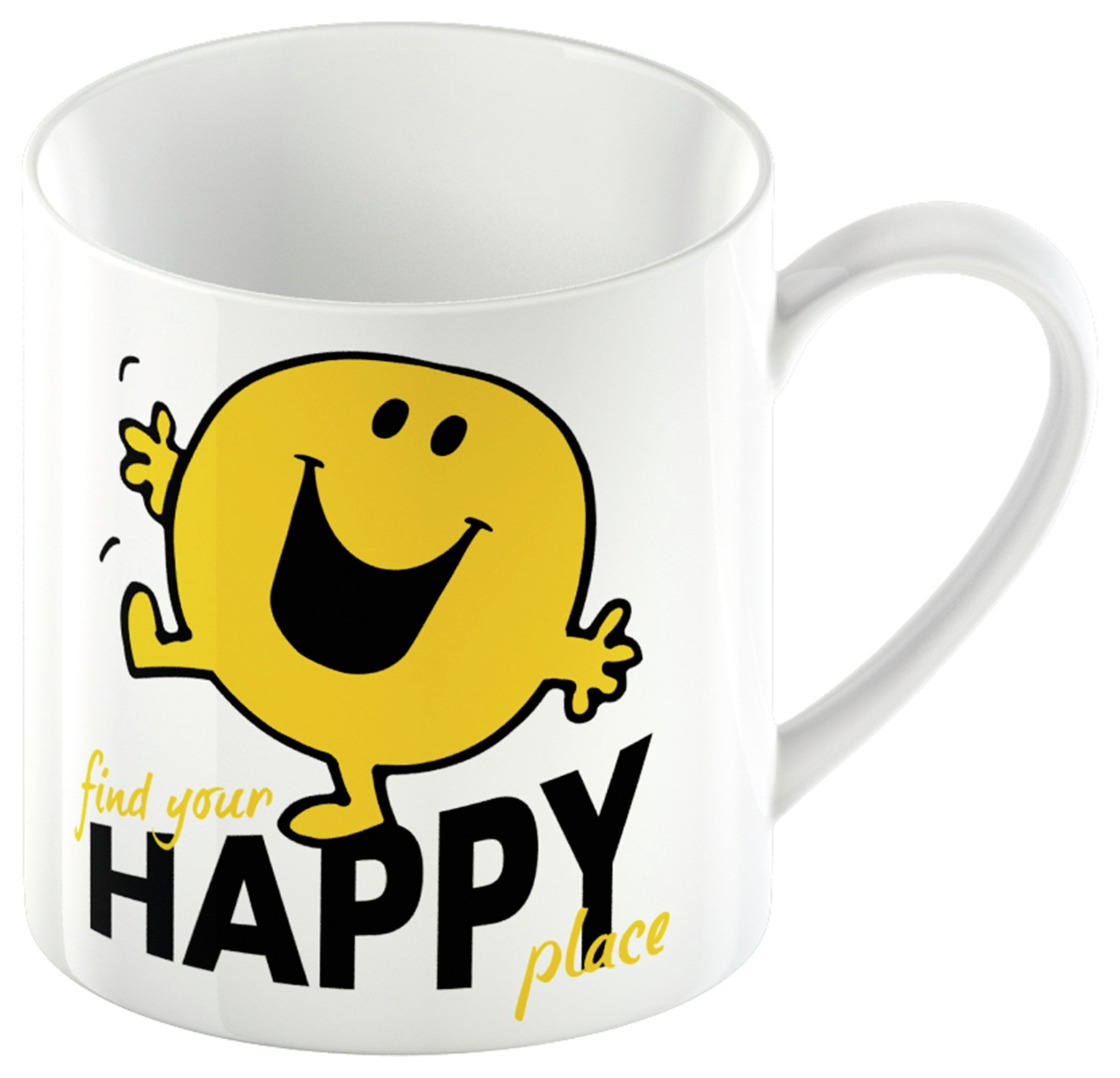 Image of Mr Men Mr Happy Mug and Lap Tray Set.