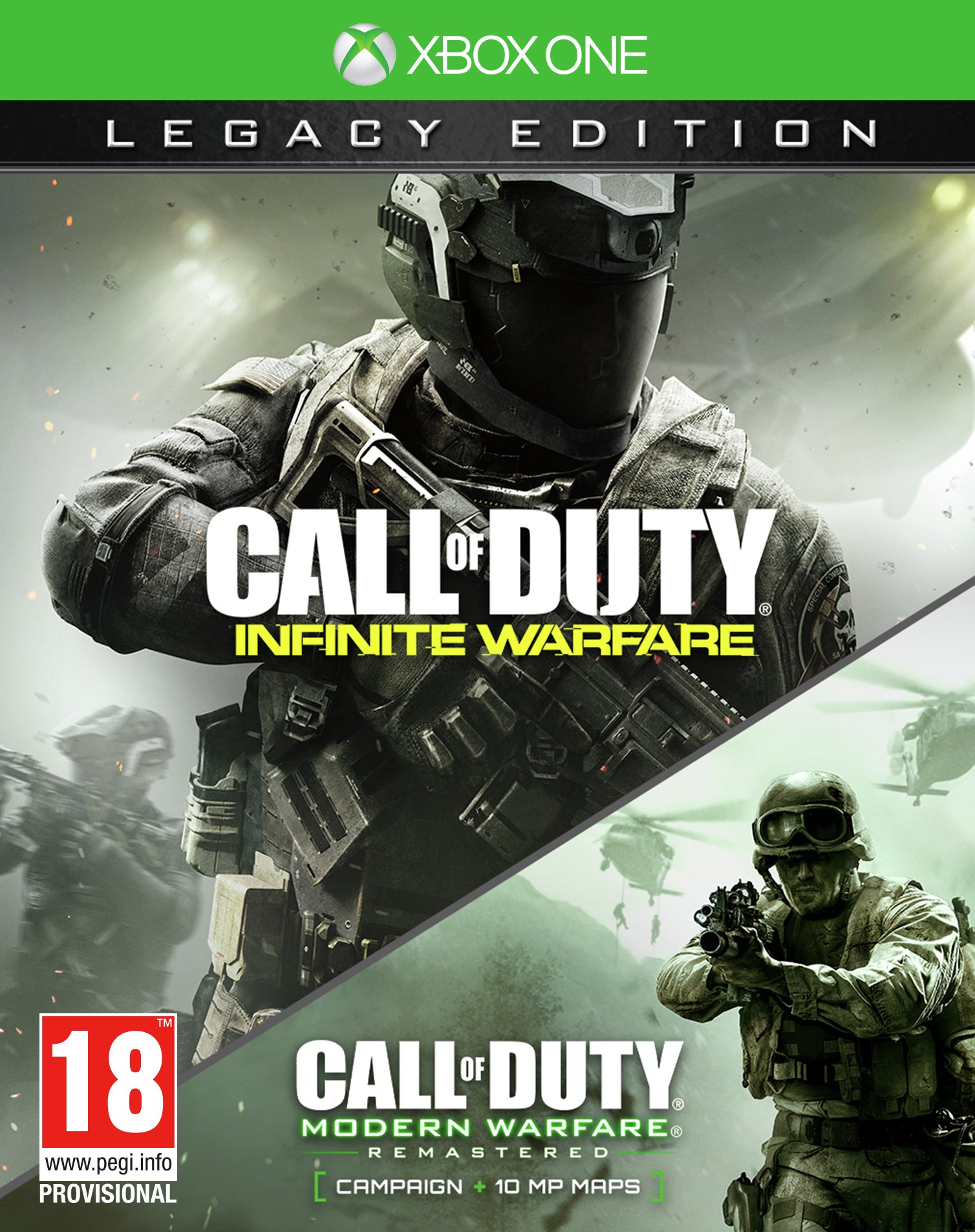 Image of Call of Duty: Infinite Warfare Legacy Edition Xbox One Game.