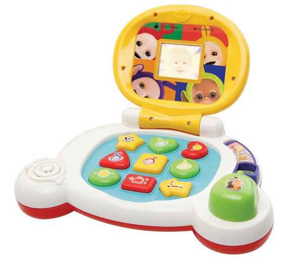 Buy Vtech Teletubbies My 1st Laptop Limited Stock Toys And Games