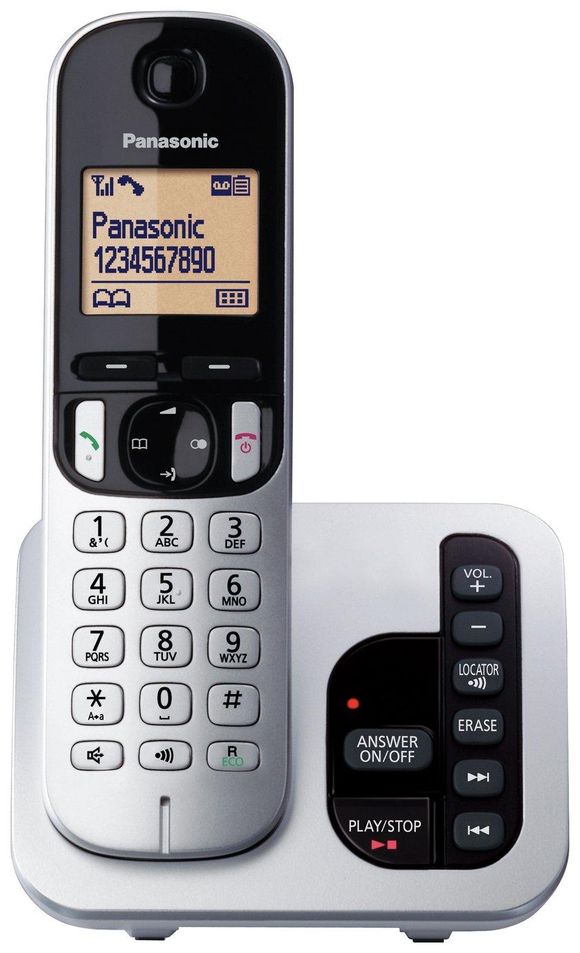 Panasonic Cordless Telephone with Answer Machine - Single