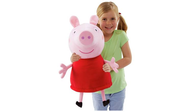 Peppa Pig Giant Talking Peppa Soft Toy