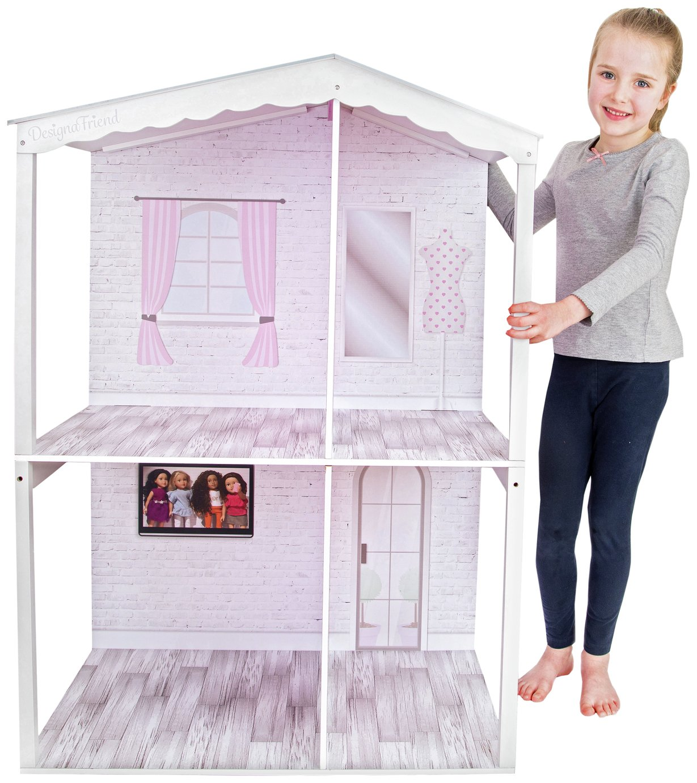 Buy Chad Valley Designafriend Wooden Dolls House Dolls Houses