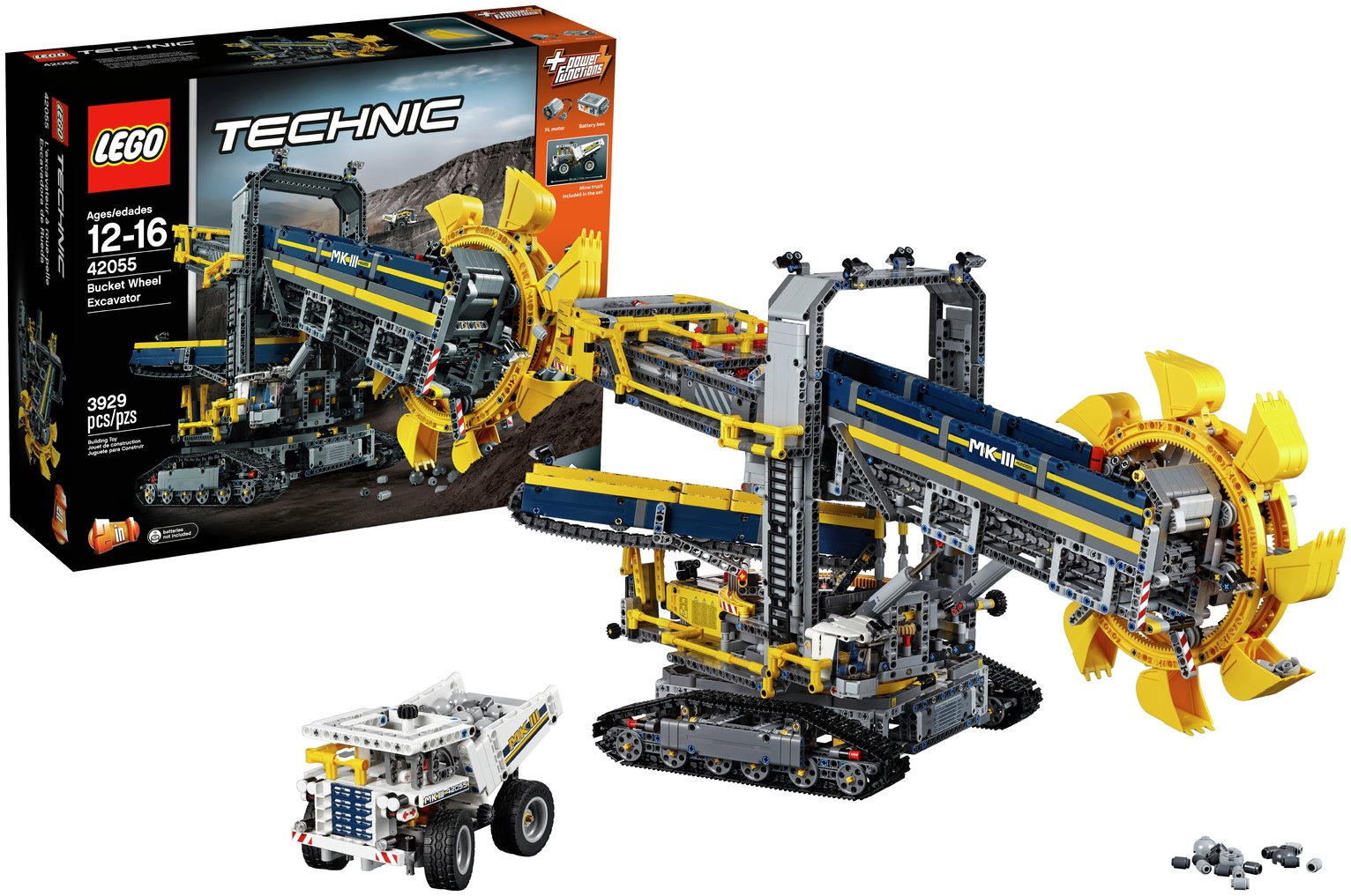 Image of LEGO Technic Bucket Wheel Excavator - 42055