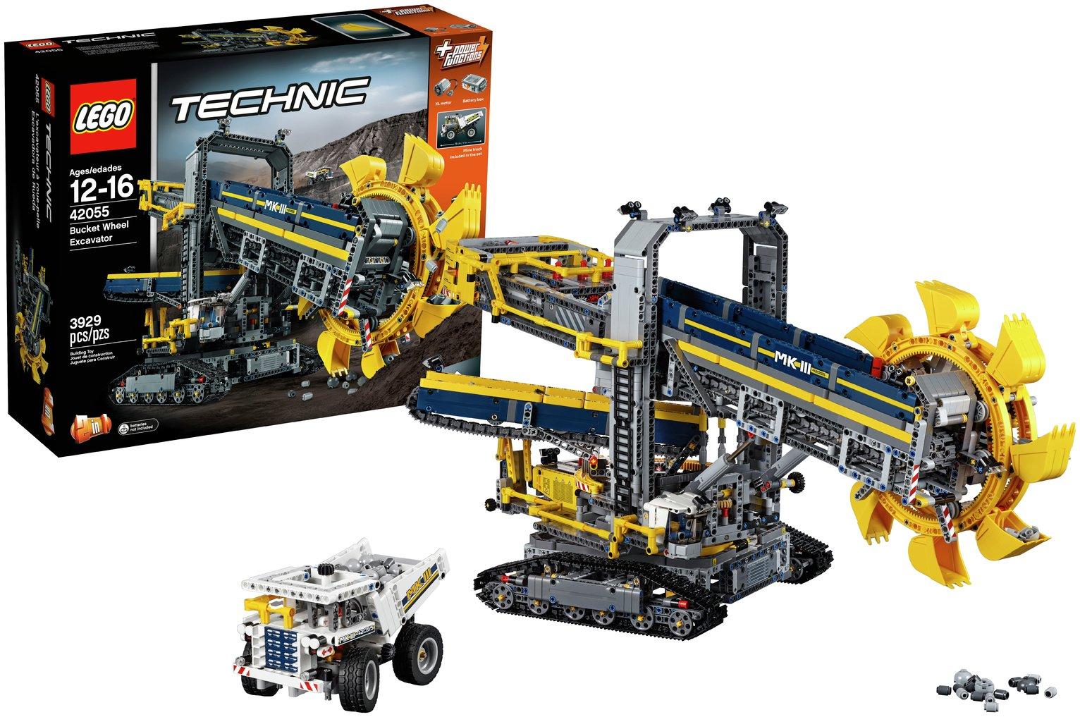 Buy LEGO Technic Bucket Wheel Excavator - 42055 | LEGO | Argos