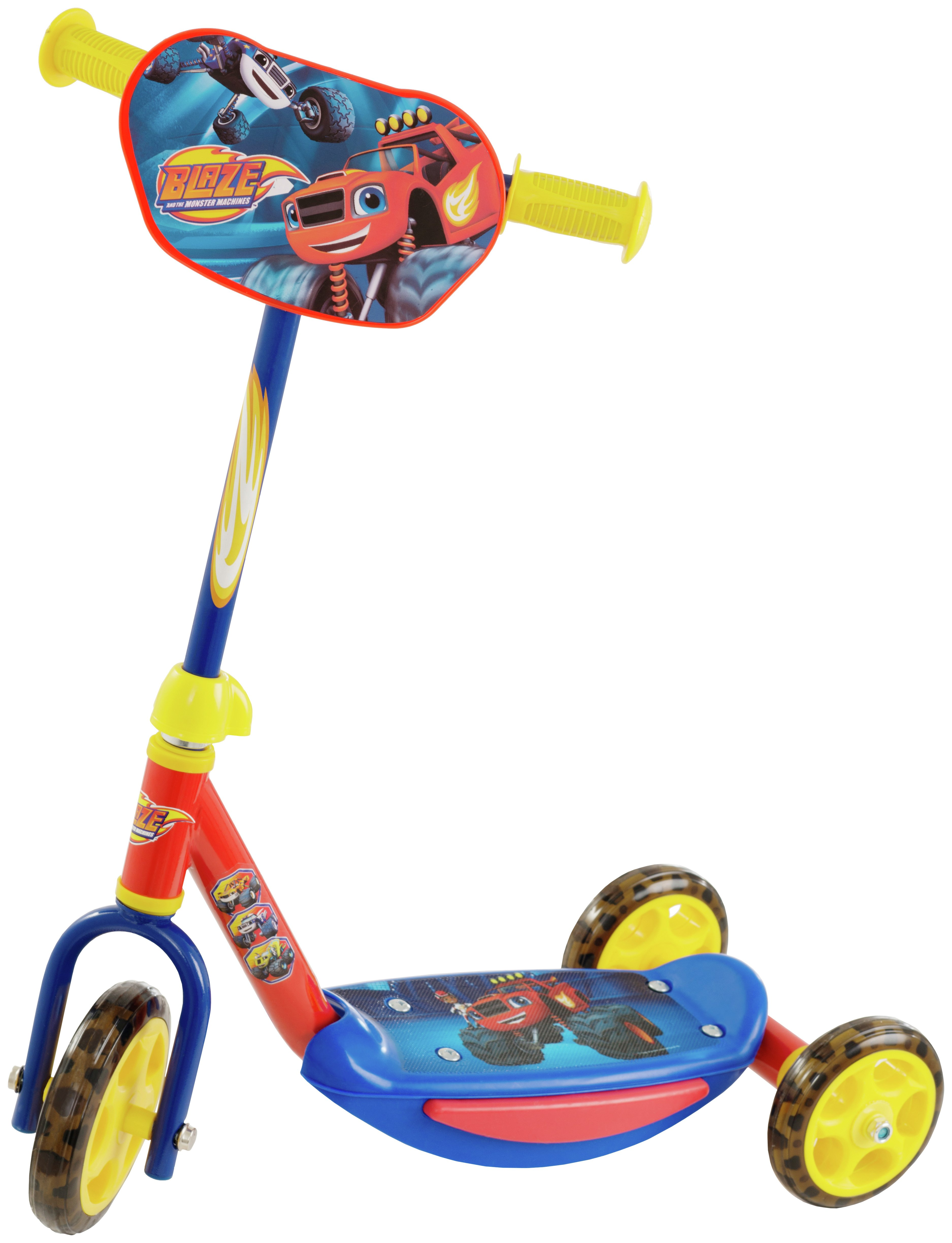 Image of Blaze and the Monster Machines Tri-Scooter
