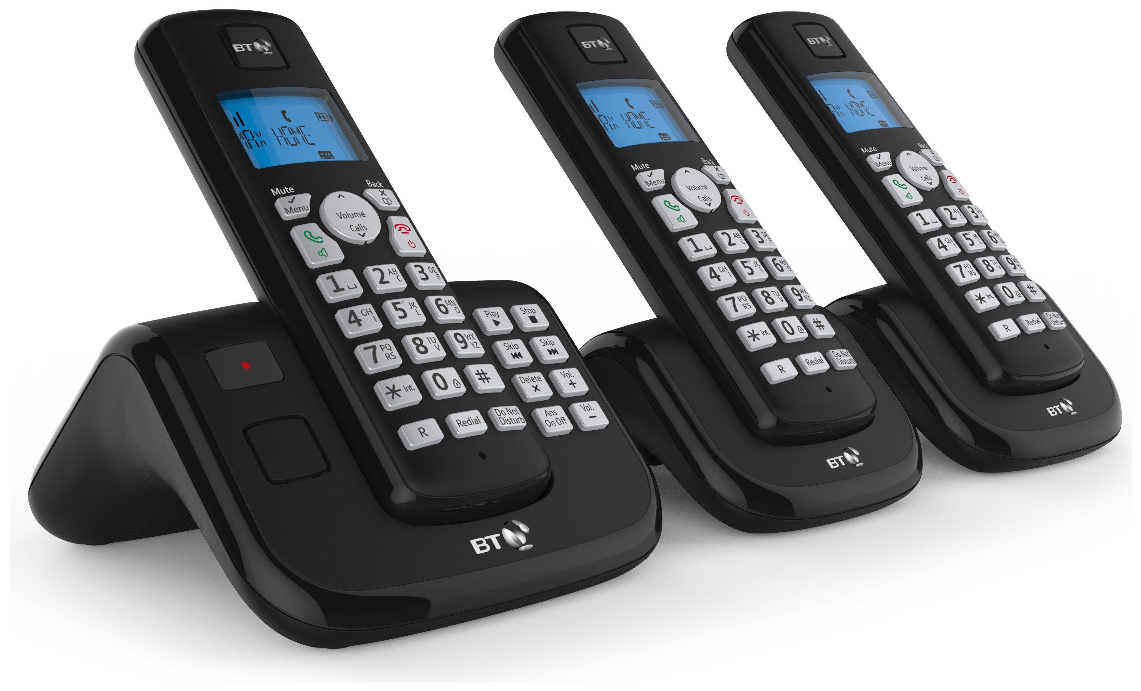 Image of BT - 3560 - Cordless Telephone & Answer Machine - Triple
