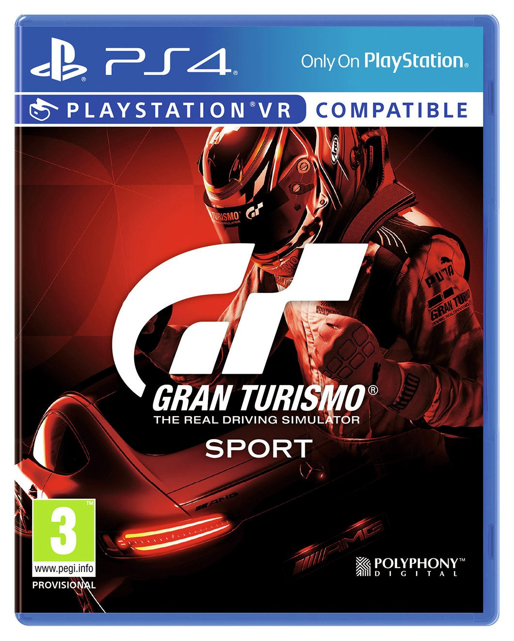 Gran Turismo Sport PS4 Game (PS VR Compatible)
