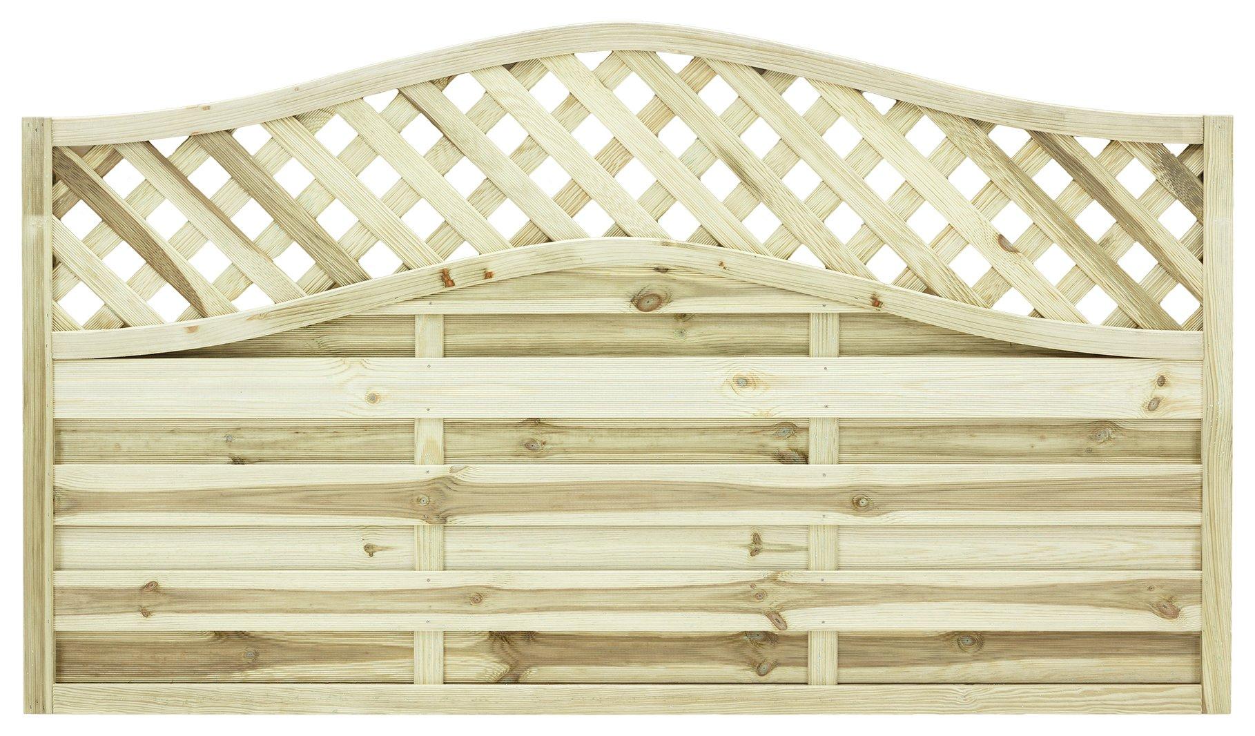 Grange 1.05m Elite St Meloir Fence Panel - Pack of 3. lowest price
