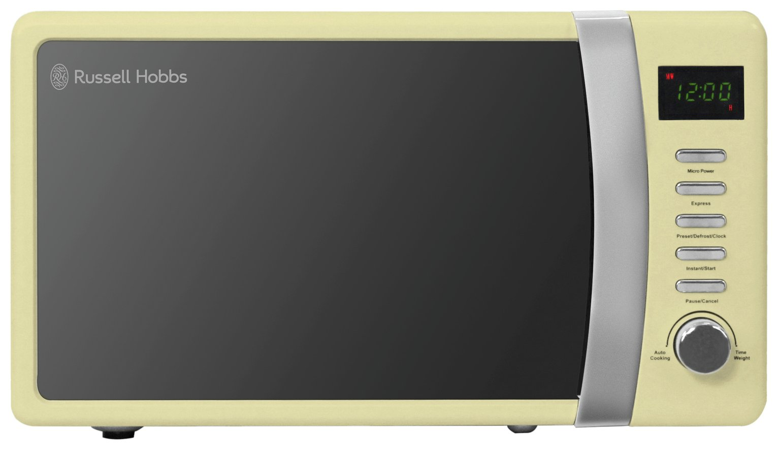 Russell Hobbs - Standard Microwave -Colours Plus -Cream