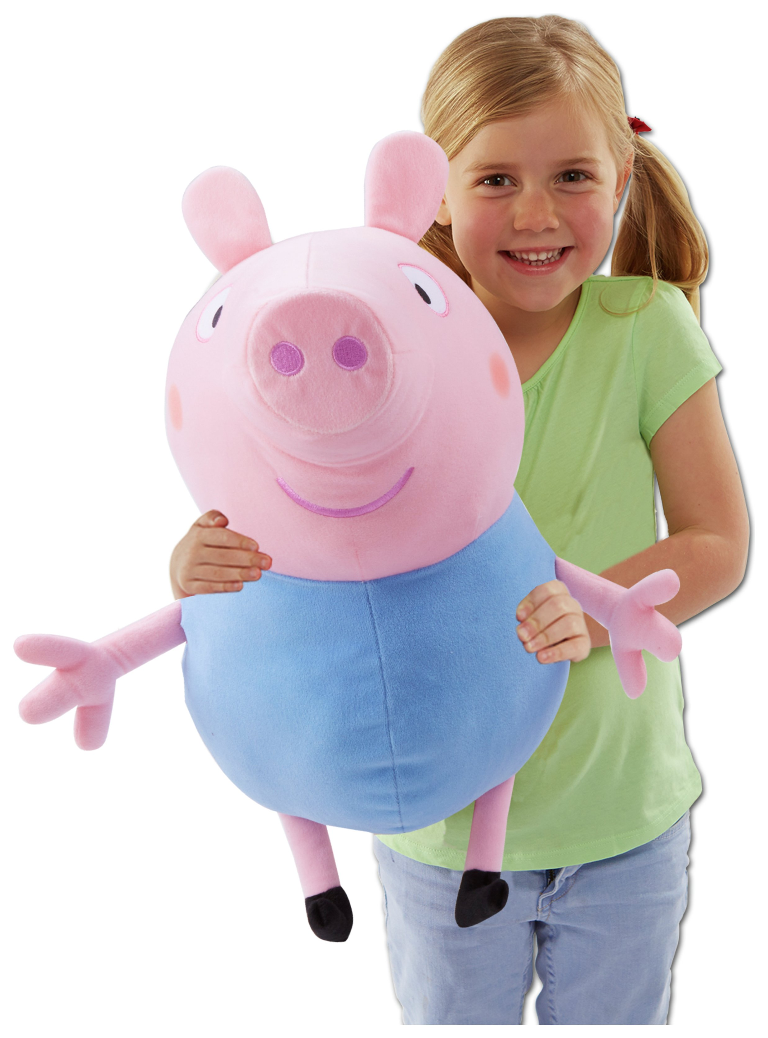 Peppa Pig Giant Talking George Soft Toy