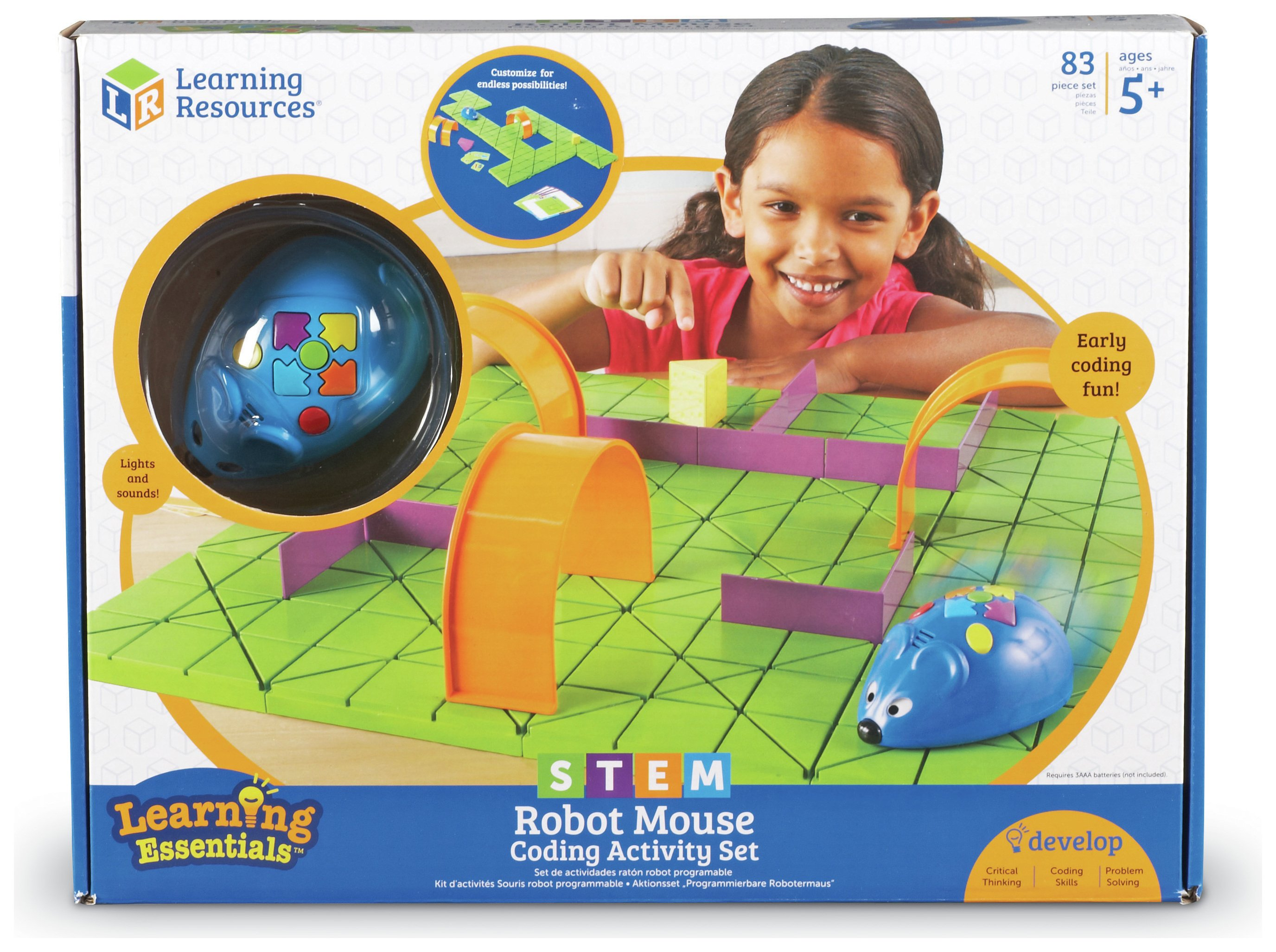 STEM Code and Go Robot Mouse Activity Set.