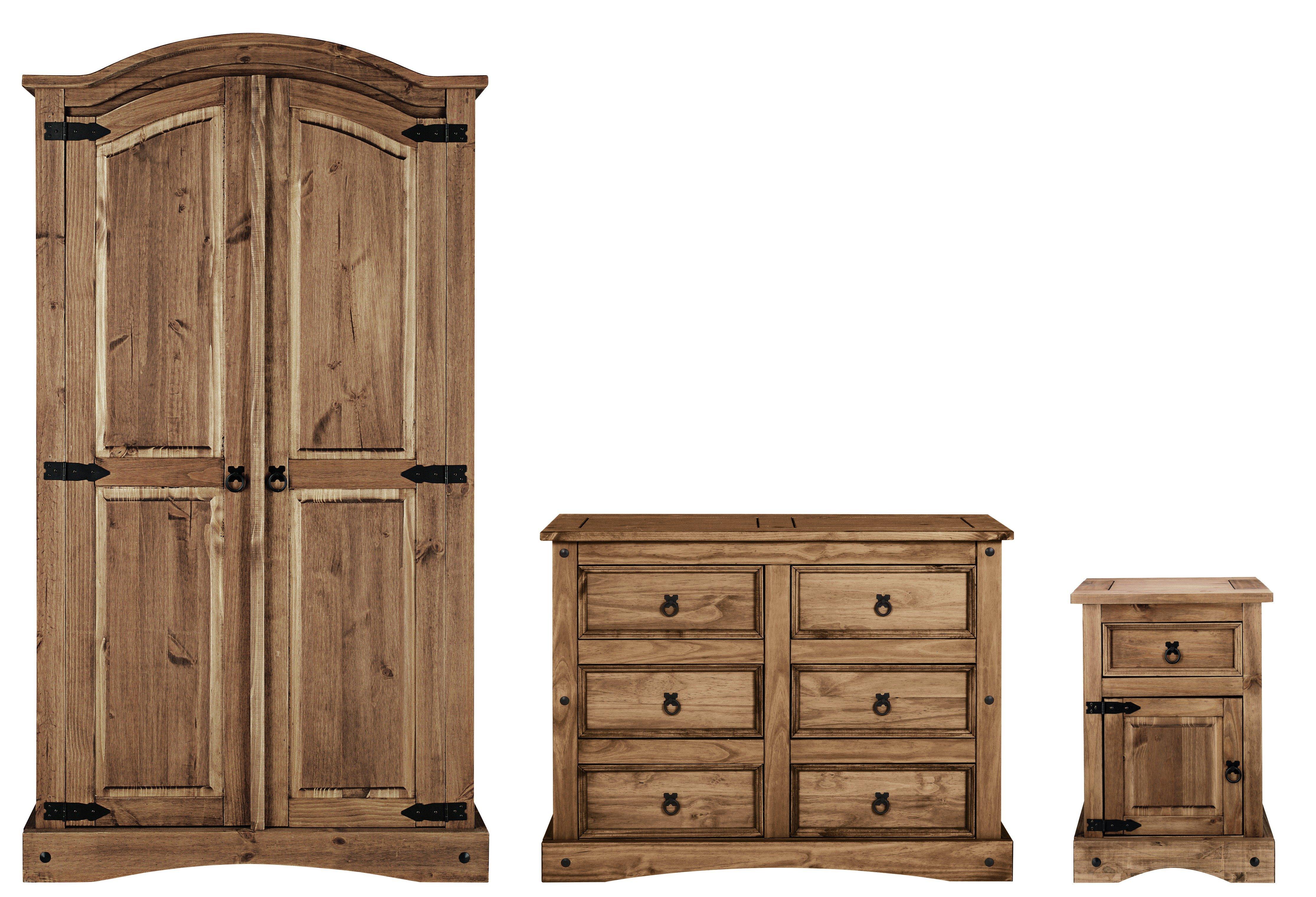 seconique flat packed corona pine bedroom furniture package. Black Bedroom Furniture Sets. Home Design Ideas