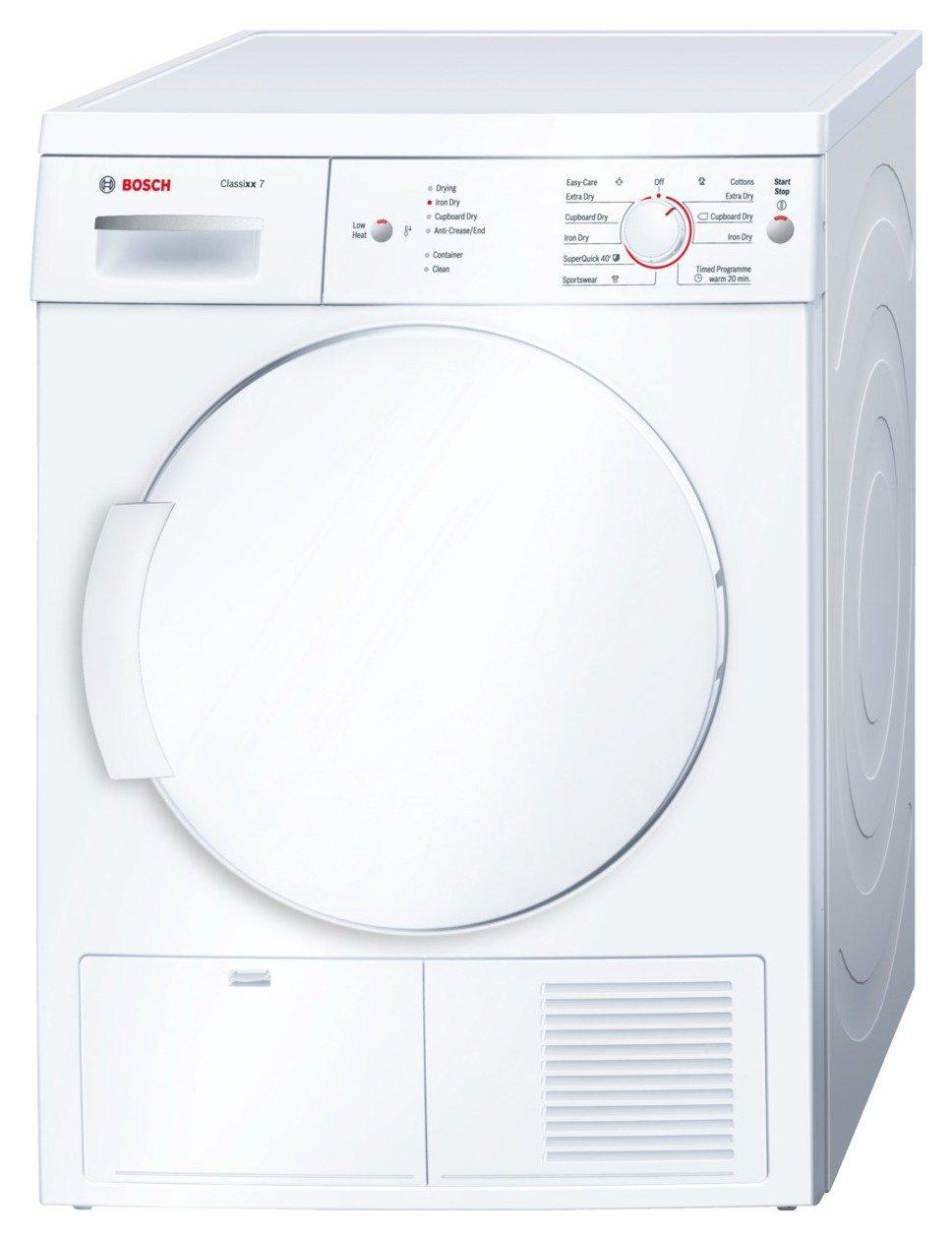 Bosch - WTE84106GB Condenser - Tumble Dryer - White