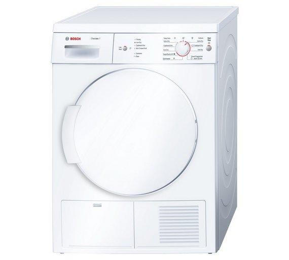 Loading Tumble Dryer ~ Buy bosch wte gb condenser tumble dryer white at