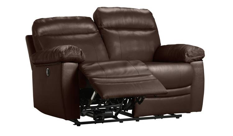 Buy Argos Home Paolo 2 Seater Power Recliner Sofa - Brown | Sofas | Argos