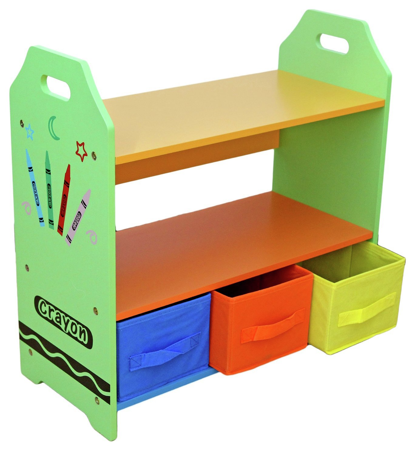 Image of Bebe Style Crayon Shelves and Storage - Green.