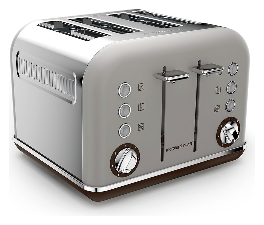 Image of Morphy Richards - Toaster - Accents Special - Edition Toaster - -Pebble