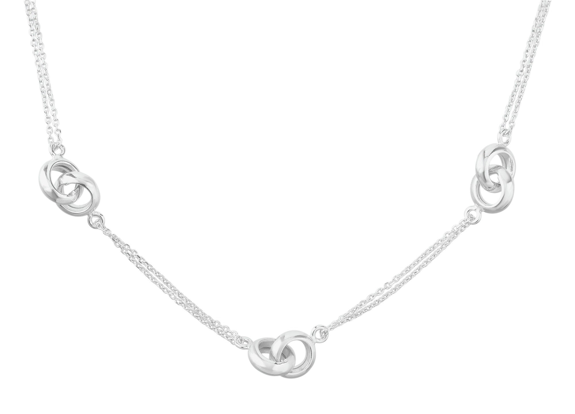 Image of Adoration - Sterling Silver - Hugs Necklace.