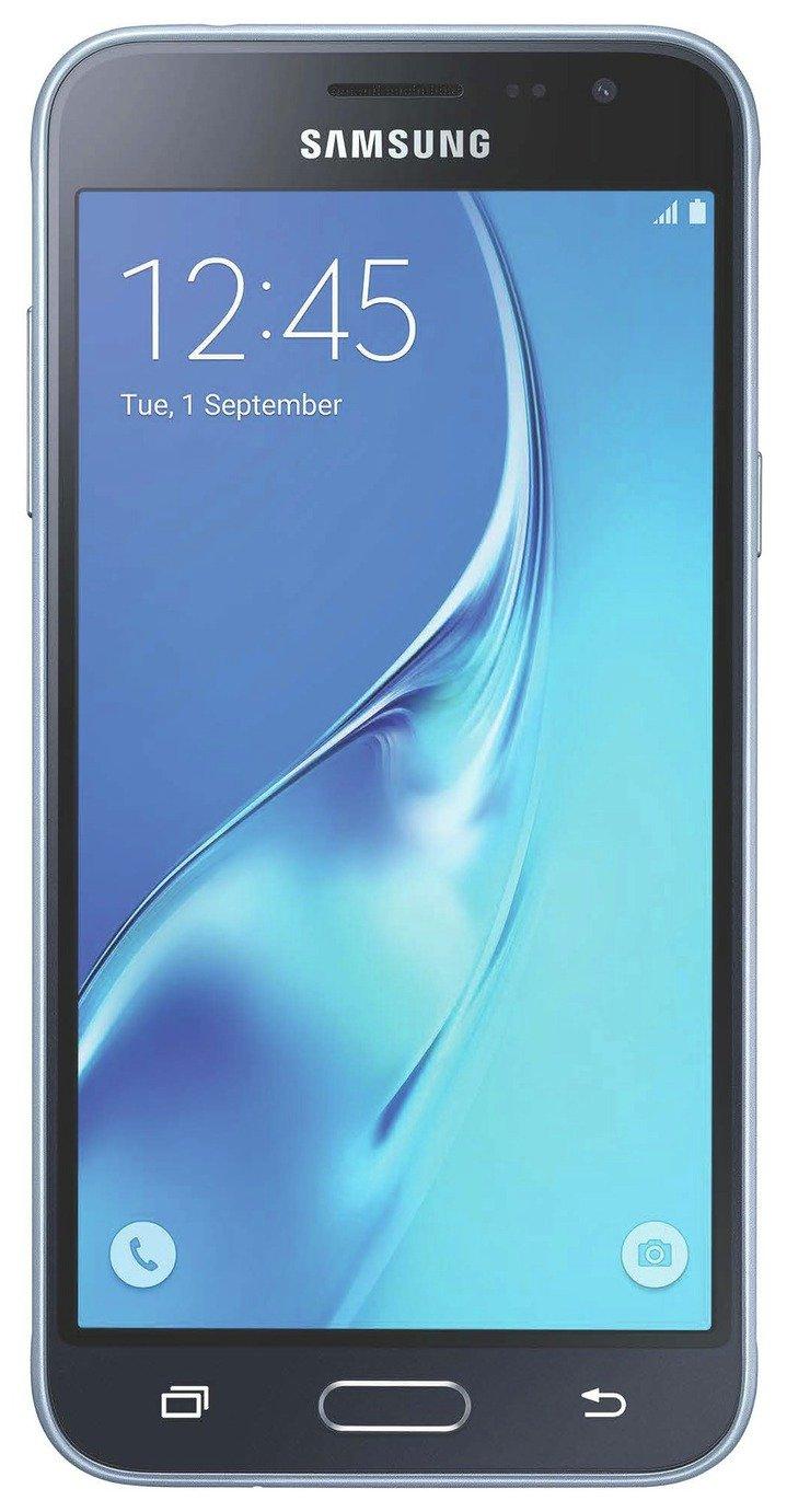 Samsung EE Samsung Galaxy J3 Mobile Phone - Black.