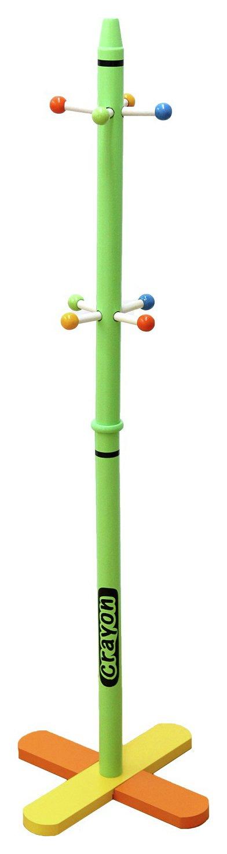 Image of Kiddi Style Crayon Coat Stand - Green
