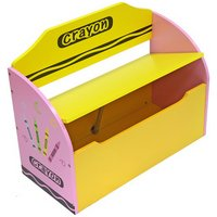 Bebe Style Crayon Toy Box and Bench - Pink.