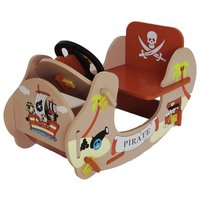 Bebe Style Pirate Themed Rocking Boat.