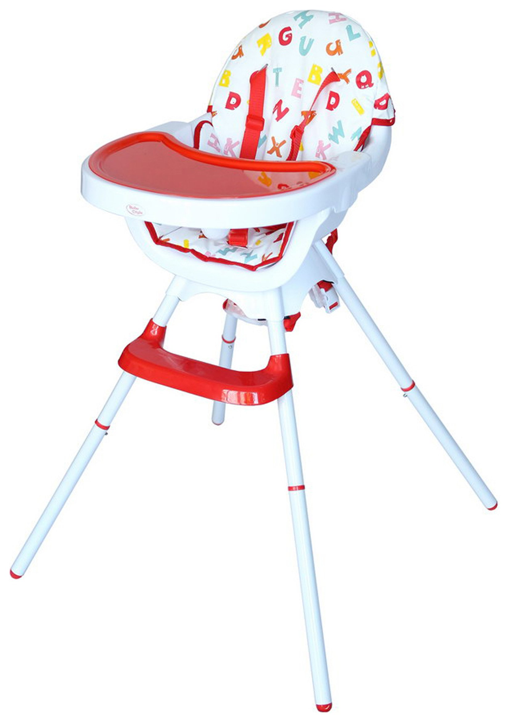 Image of Bebe Style 3 in 1 Highchair - Red.