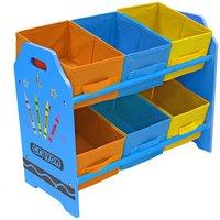 Bebe Style Crayon Bin Storage - Blue.