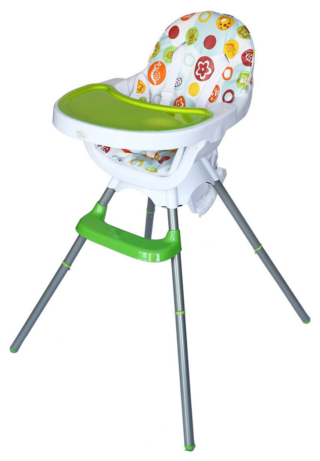 Image of BeBe - Style 3 in 1 - Highchair - Green