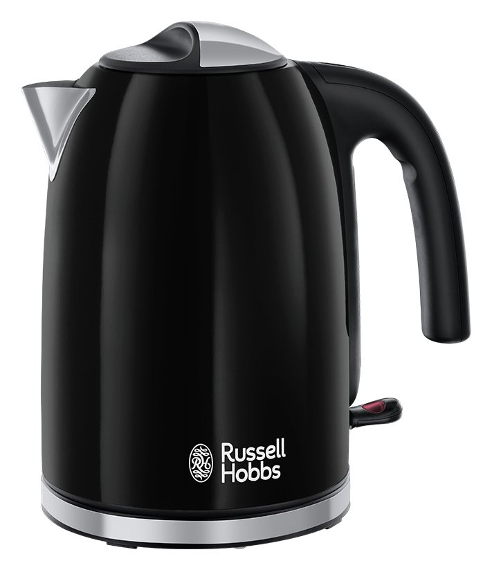 Russell Hobbs - Colours+ Stainless Steel Black - Kettle 20413