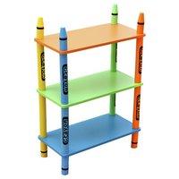 Bebe Style Crayon 3 Tier Shelves - Green.
