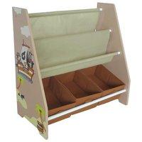 Bebe Style Pirate Themed Flat Book Shelf.