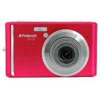 Polaroid - IX828 20MP 8x - Zoom - Compact Camera - Red
