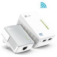 TP-LInk - 300MBPS Wi-Fi + 600MBPS Powerline Kit