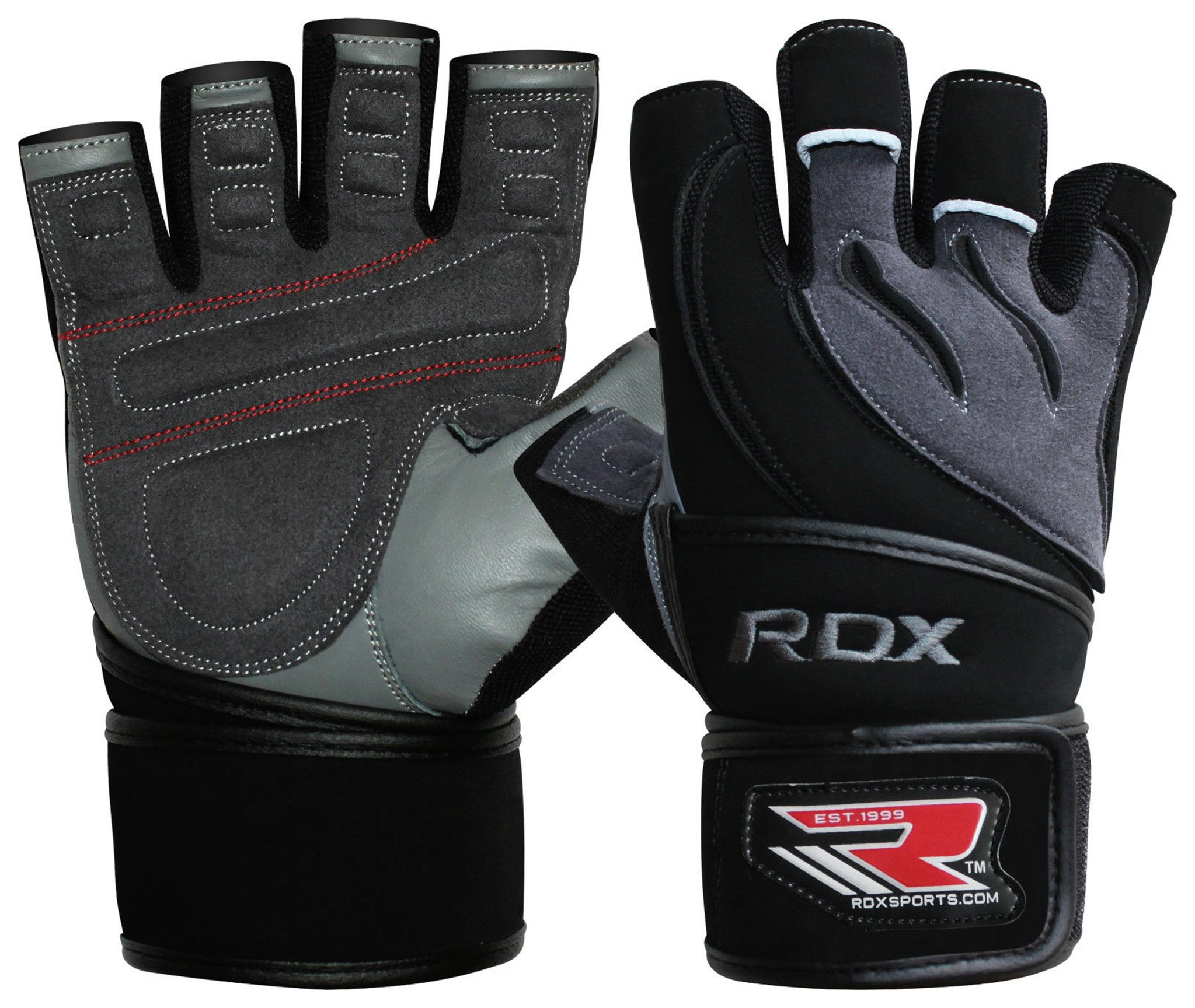 Driving gloves argos - Rdx Leather Weight Lifting Gloves With Strap