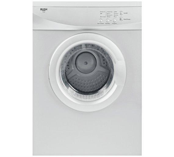 Bush V7SDW 7KG Vented Tumble Dryer