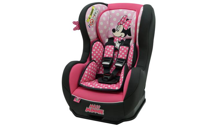 Disney Minnie Mouse Cosmo Luxe Group 0/1 Car Seat - Pink