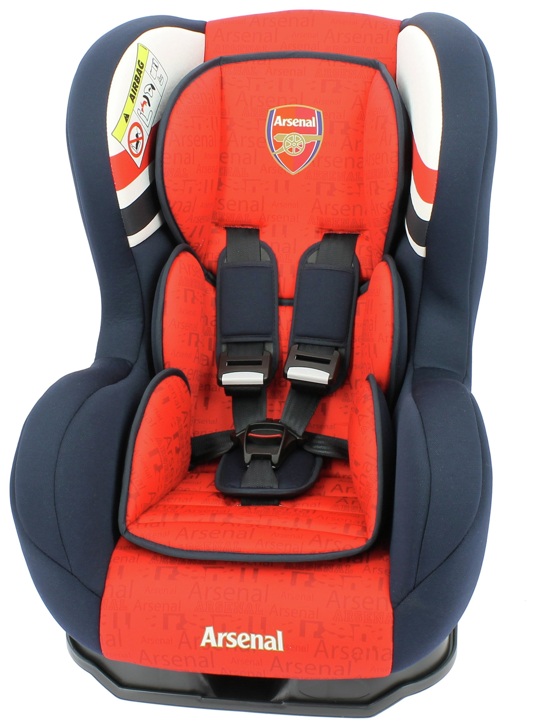 Image of Team Tex Arsenal FC Cosmo SP Luxe Group 0+-1 Car Seat