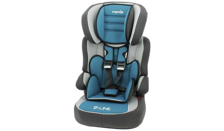 79d5fe62a Buy Beline Luxe Group 1 2 3 High Back Booster - Blue