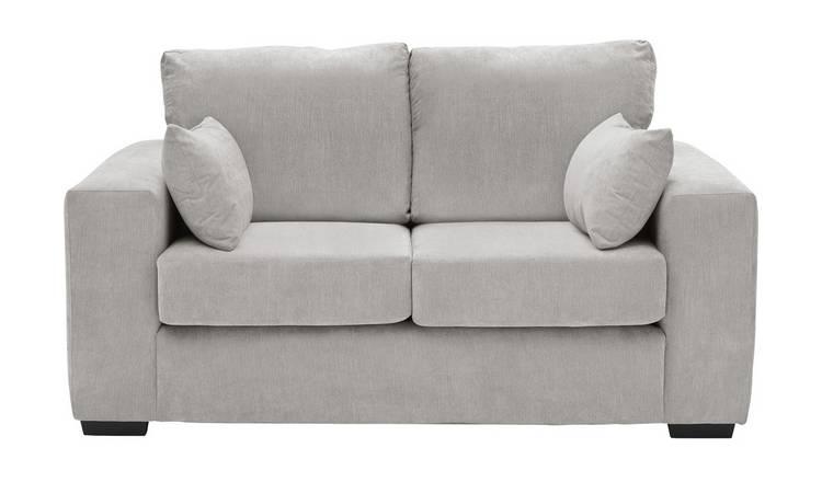 Miraculous Buy Argos Home Eton 2 Seater Fabric Sofa Grey Sofas Argos Machost Co Dining Chair Design Ideas Machostcouk