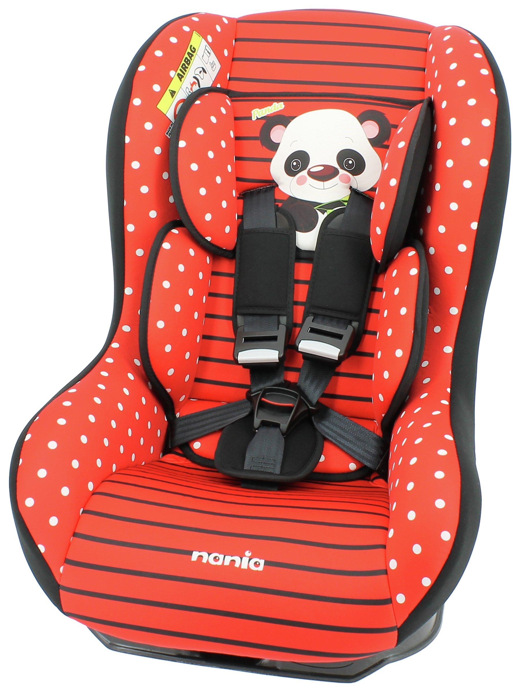 Driver Panda Group 0+/1 Car Seat - Red