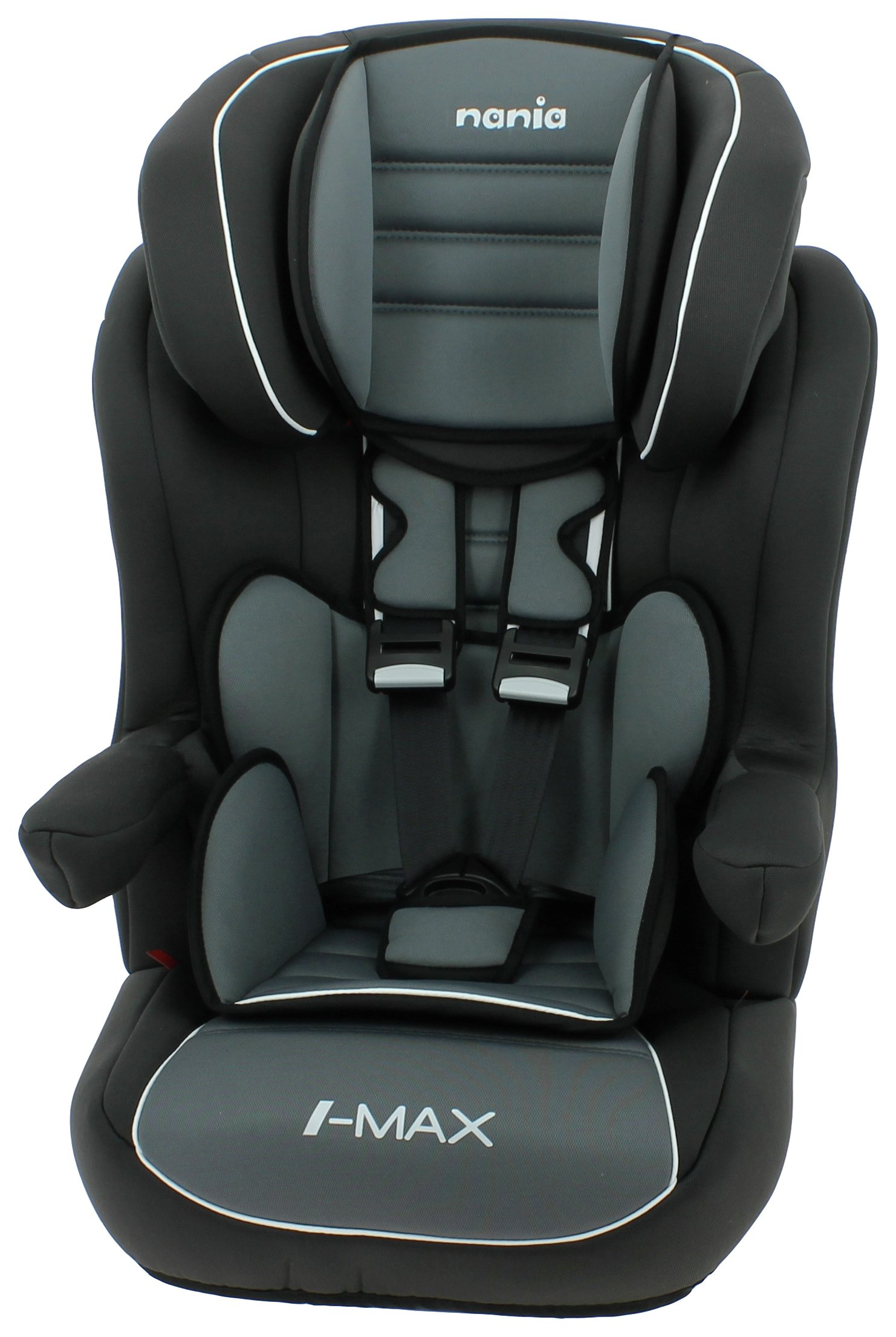 Nania Imax SP Luxe Group 1/2/3 Car Seat - Agora Storm Black
