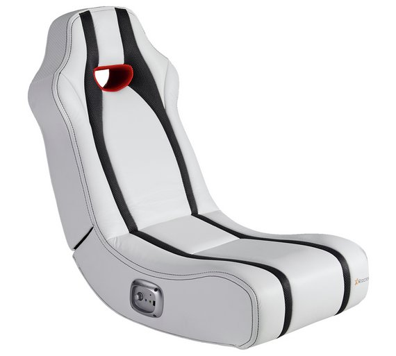 Buy X Rocker Spectre White Gaming Chair